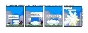 Stinkoman Comic Strip